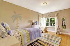 Γοητευτικό εσωτερικό δωματίων παιδιών Στοκ Φωτογραφία
