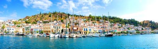 Γοητευτικό ελληνικό ψαροχώρι Στοκ Εικόνες