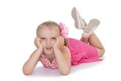 Γοητευτικό μικρό κορίτσι στοκ εικόνα με δικαίωμα ελεύθερης χρήσης