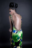 Γοητευτικό μοντέλο μόδας    Στοκ Εικόνες