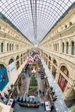 ΓΟΜΜΑ, η αίθουσα εμπορικών συναλλαγών του mainstore στη Μόσχα στοκ εικόνες με δικαίωμα ελεύθερης χρήσης