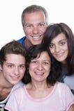 Γονείς με τους εφήβους Στοκ φωτογραφία με δικαίωμα ελεύθερης χρήσης