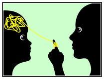Γονικός έλεγχος μυαλού Στοκ φωτογραφία με δικαίωμα ελεύθερης χρήσης
