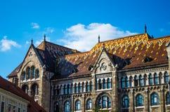 Γοτθικά κτήρια ύφους στη Βουδαπέστη στοκ εικόνα