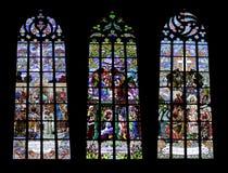 γοτθικά Windows κολάζ Στοκ εικόνα με δικαίωμα ελεύθερης χρήσης