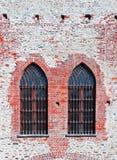 Γοτθικά Windows Στοκ εικόνα με δικαίωμα ελεύθερης χρήσης