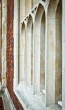 Γοτθικά Windows Στοκ φωτογραφία με δικαίωμα ελεύθερης χρήσης