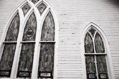 γοτθικά Windows Στοκ Φωτογραφίες