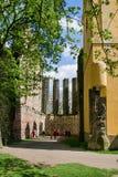 γοτθικές καταστροφές εκκλησιών Στοκ φωτογραφία με δικαίωμα ελεύθερης χρήσης