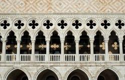 Γοτθική αρχιτεκτονική στη Βενετία Στοκ εικόνα με δικαίωμα ελεύθερης χρήσης
