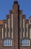Γοτθική αρχιτεκτονική στη Δανία Στοκ Εικόνες