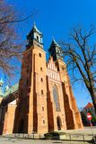 Γοτθική εκκλησία καθεδρικών ναών, Πόζναν, Πολωνία Στοκ Εικόνα