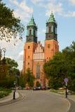 Γοτθική εκκλησία καθεδρικών ναών, Πόζναν, Πολωνία Στοκ Εικόνες