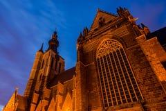 Γοτθική εκκλησία σε Aarschot, Βέλγιο Στοκ φωτογραφία με δικαίωμα ελεύθερης χρήσης