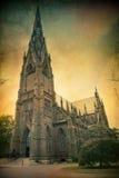 Γοτθική εκκλησία Στοκ φωτογραφία με δικαίωμα ελεύθερης χρήσης