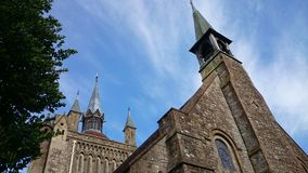 Γοτθική εκκλησία Στοκ εικόνα με δικαίωμα ελεύθερης χρήσης