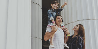 Γοτθική ενότητα τεχνών αρχιτεκτονικής διακοπών οικογενειακών διακοπών Στοκ εικόνα με δικαίωμα ελεύθερης χρήσης