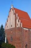 Γοτθική, μεσαιωνική εκκλησία Στοκ φωτογραφία με δικαίωμα ελεύθερης χρήσης
