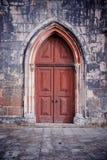 Γοτθική πόρτα Στοκ Φωτογραφίες