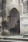 Γοτθική πόρτα. Στοκ Φωτογραφίες