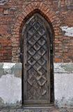 Γοτθική πόρτα. Στοκ εικόνα με δικαίωμα ελεύθερης χρήσης