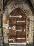 Γοτθική πόρτα Στοκ φωτογραφία με δικαίωμα ελεύθερης χρήσης