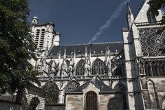 Γοτθικός καθεδρικός ναός Άγιος-Pierre-et-Άγιος-Paul σε Troyes στοκ εικόνα με δικαίωμα ελεύθερης χρήσης