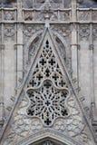 Γοτθικός καθεδρικός ναός στη Βαρκελώνη στοκ φωτογραφία με δικαίωμα ελεύθερης χρήσης