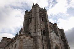 Γοτθικός καθεδρικός ναός Στοκ εικόνα με δικαίωμα ελεύθερης χρήσης