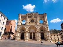Γοτθικός καθεδρικός ναός Cuenca, Ισπανία Στοκ εικόνα με δικαίωμα ελεύθερης χρήσης