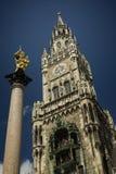 γοτθικός πύργος στοκ φωτογραφίες