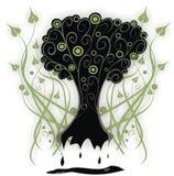 γοτθικό δέντρο Στοκ φωτογραφίες με δικαίωμα ελεύθερης χρήσης