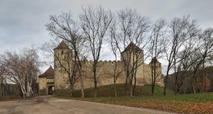 Γοτθικό κάστρο Veveri κοντά στο Μπρνο Στοκ εικόνες με δικαίωμα ελεύθερης χρήσης