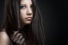 Γοτθικό κορίτσι Στοκ Φωτογραφία