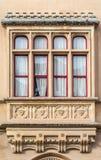 Γοτθικό κτήριο ύφους, Mdina, Μάλτα Στοκ εικόνα με δικαίωμα ελεύθερης χρήσης
