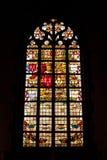Γοτθικό παράθυρο εκκλησιών Στοκ Φωτογραφίες