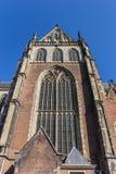 Γοτθικό παράθυρο της εκκλησίας θορίου ST Bavo στο Χάρλεμ Στοκ εικόνες με δικαίωμα ελεύθερης χρήσης