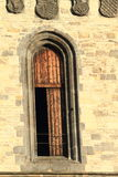 γοτθικό παράθυρο Στοκ Φωτογραφία
