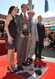 Γουίλ Φέρελ & Molly Shannon & John Γ Reilly & Eric Garcetti Στοκ Φωτογραφίες