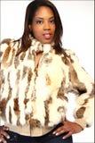 γούνα μόδας Στοκ Φωτογραφία
