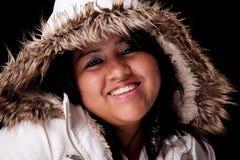 γούνινες νεολαίες γυν&alph Στοκ φωτογραφίες με δικαίωμα ελεύθερης χρήσης
