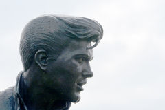 Γούνινο άγαλμα Λίβερπουλ του Μπίλι στοκ εικόνες με δικαίωμα ελεύθερης χρήσης