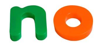 γράμματα μαγνητικό αριθ. ψυ& Στοκ φωτογραφία με δικαίωμα ελεύθερης χρήσης