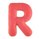 Γράμμα Ρ από αισθητός Στοκ Φωτογραφία