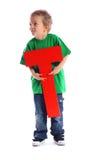 γράμμα τ αγοριών Στοκ εικόνες με δικαίωμα ελεύθερης χρήσης