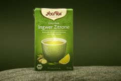 Γράμμα Τ ingwer-Zitronen στοκ εικόνες με δικαίωμα ελεύθερης χρήσης