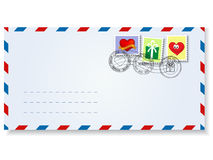 γράμμα s ημέρας στο βαλεντίν&o Στοκ Εικόνες
