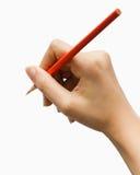 Γράψιμο ή σημειώσεις με το χέρι στοκ φωτογραφίες