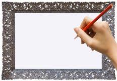 Γράψιμο ή σημειώσεις με το χέρι στοκ φωτογραφίες με δικαίωμα ελεύθερης χρήσης
