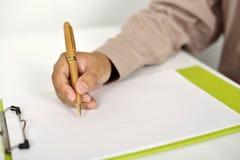 γράψιμο ατόμων επιχειρησι& Στοκ εικόνα με δικαίωμα ελεύθερης χρήσης
